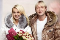 Яна Рудковская и Евгений Плющенко представили бренд Odri на VFW