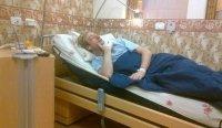 Рудковская опубликовала постоперационные снимки Плющенко в больнице