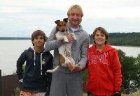 Евгений Плющенко предпочитает семейный отдых