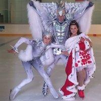 Евгений Плющенко и Джонни Вейр позабавили фанатов танцем на льду
