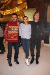 Евгений Плющенко дал мастер-класс фигурного катания Виктории Боня