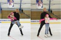 Евгений Плющенко провел мастер-класс для девочки с ДЦП